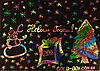 Скретч набор граттажный листы Rainbow 37*26см для рисования
