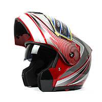 Мотоцикл анфас вентилируемые гонки шлем