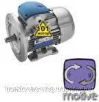 Асинхронный электродвигатель 0,75 кВт 1500 об/мин на лапах с фланцем B14