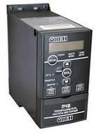 Векторний перетворювач частоти 0,37 кВт 240В ( однофазний) ПЧВ101-К37-А
