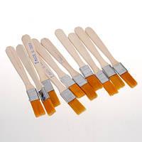 10шт припоя BGA флюс паста щетка с деревянной ручкой инструмент для реболлинга
