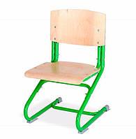 Растущий ортопедический детский стул (дерево, металл) ТМ Дэми СУТ.01-01 зеленый