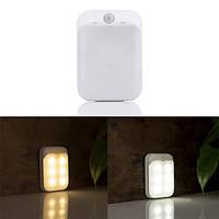 ARILUX® PIR Motion Датчик 6 LED USB-перезаряжаемый переносной ночной светильник для шкафа для кабинета Camoing