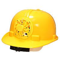 Солнечных батареях защитный шлем трудно проветрить шляпу с охлаждением вентилятор