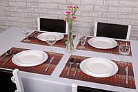 KCASA Placemat Fashion Pvc Обеденный стол Коврик для дисков Коврик для подушек для тарелки Водонепроницаемы Таблетка для полотенец Slip-Resi