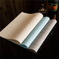 KCASA Placemat Fashion Pvc Обеденный стол Коврик для дисков Коврик для подушек для чаши Водонепроницаемы Таблетка для полотенец Прочная