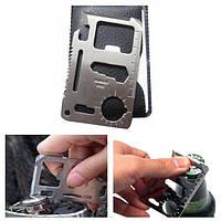 IPRee Tactical Mini нож карты Спасательные Многофункциональный инструмент Card Открытый выживания