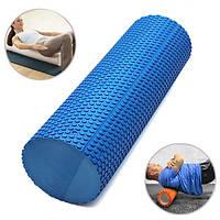 45x15см Ева йога пилатес домашний спортзал пены ролика массаж точечный