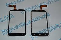 Оригинальный тачскрин / сенсор (сенсорное стекло) для HTC Desire V T328W (черный цвет) + СКОТЧ В ПОДАРОК