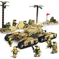 KaziTankTeamBuildingBlockНаборы игрушек Обучающие игрушки для детей Fidget # 8404 1184 Push Pcs
