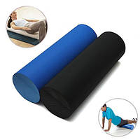 45x14.5cm ева йога пилатес пена ролик домашний спортзал массаж группа