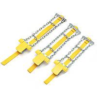 Автоматические противоскользящие стальные цепи Авто Skid Ремень Снег грязи Песок Шина Clip-on Chain S/M/L