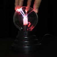 3-дюймовый USB-плазма с шариковой сферой Lightning Light Волшебный Crystal Лампа Globe Laptop