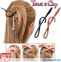 Чудо - заколка для волос Twist 'n Clip