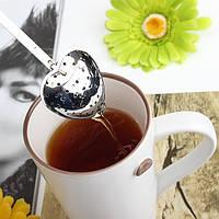 Нержавеющая сталь в форме сердца чай infuser ситечко фильтра ложка