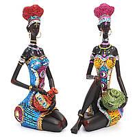 Смола Фигурка Craft Африканская Женское Красота Леди Статуя Декоративные Главная Оборудование