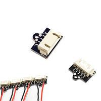 2.54 4P Базовая головка Блок питания адаптера питания JST 1S 2S 3S 4S