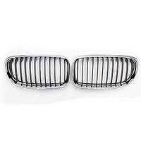 Пара стойка никелированная решетка решетка капота для BMW E90 3 серии 2009-2011