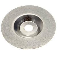 100мм 4 дюйма с покрытием алмазного шлифовального круга шлифовальная машина серебряный тон