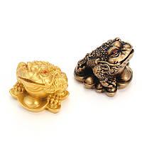 Смола китайской лягушки жаба фэн-шуй Счастливый Деньги богатство богатства Домашний отдел украшение украшения