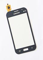 Тачскрин / сенсор (сенсорное стекло) для Samsung Galaxy J1 Ace J110 J110F J110G J110H J110L J110M (серый цвет)
