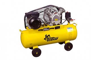 Ременной компрессор Кентавр КР-50/30С (385 л/мин, 50 л)
