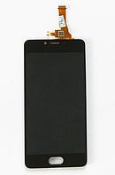 Оригинальный дисплей (модуль) + тачскрин (сенсор) для Meizu M5c (черный цвет)