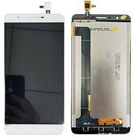 Оригинальный дисплей (модуль) + тачскрин (сенсор) для Oukitel U16 Max (белый цвет)