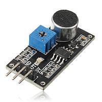 Звук датчика модуль обнаружения LM393 чип электретный микрофон для Arduino
