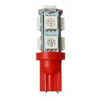 1шт автомобилей T10 9smd 5050 красный LED лампы свет лампы постоянного тока 12В