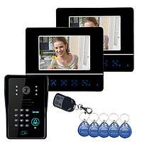 Эннио sy811mjids12 брелков RFID видео домофон сенсорная панель замка двери