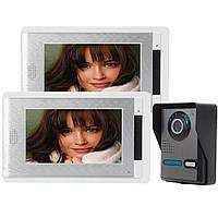 Эннио sy814fa12 7-дюймовый видео домофон дверной звонок Интерком комплект