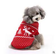 РождествоPetСобакаCatSnowиолень Зимний теплый свитер Толстовка с капюшоном Pappy комбинезоны