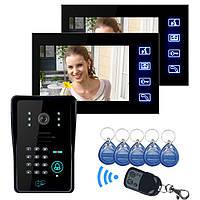 Эннио sy806mjids12 LCD видео домофон с IR Клавиатура камеры и код