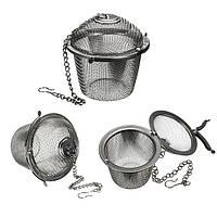 Нержавеющей стали чай фильтр пряность трав фиксируя заварки сетки мяч