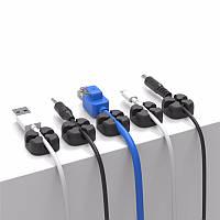 ORICO CBSX Cross Shape Настольный кабель Clip Winder Провод Держатель Кабельный шнур Органайзер Система управления