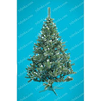 Ёлка, ель искусственная 2.2 м Карпатская с белыми кончиками, новогодняя елка, сосна на новый год, искуственная ёлка