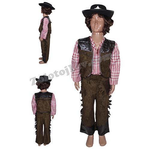 Ковбойский костюм для ребенка рост 134