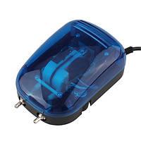 Boyu ы-2000а аквариум воздушный насос низкой мощности 2x4l/мин 3вт