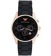 Стильные мужские часы Armani Emporio, кварцевые часы Армани Эмпорио, наручные часы, часы мужские