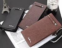 Стильный мужской клатч BAELLERRY, кожаный клатч, портмоне клатч ручной работы baellerry, мужской бумажник
