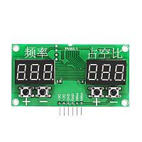 Генератор сигналов с квадратной волной Шаг Мотор Приводной модуль PWM Регулировка частоты импульсной частоты
