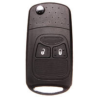 Две кнопки дистанционного ввода ключа дело Shell для Крайслер Додж с лезвием