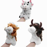 27CM Фаршированный животный корова ручной кукол Classic Детский рисунок Кукольные игрушки Плюшевые