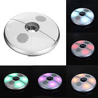 4В1СмартUSB64 светодиодов Зонт Зонтик Свет RGB Цветной Лампа Bluetooth Громкоговоритель 240LM DC5V