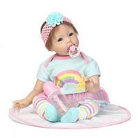 NPK 23 '' Reborn Babies Кукла Soft Силиконовый Реалистичные Baby Куклаs Детские игрушки для детей