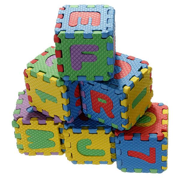 Детские красочные EVA пены коврик алфавит буквы цифры головоломки - ➊TopShop ➠ Товары из Китая с бесплатной доставкой в Украину! в Днепре