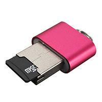 Мини высокоскоростной USB 2.0 микро SD слот для TF T-флэш-карты памяти читателя