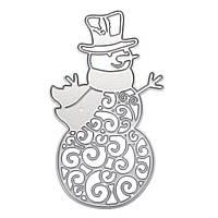 Снеговик Рождественский Металл DIY Режущие штампы Альбом для вырезок фотоальбома Paper Card Embossing Craft