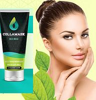 Восстанавливающая крем маска для лица с коллагеном COLLAMASK, коллагеновая маска для лица, маска collamask